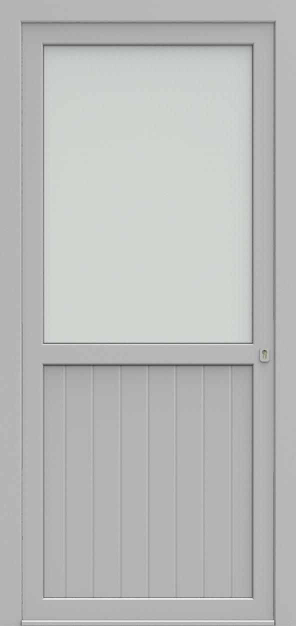 Porte d'entrée V-FORM XPS 1/2 RAINURE de la gamme Rainuré posée par les établissements CELEREAU à Roncq