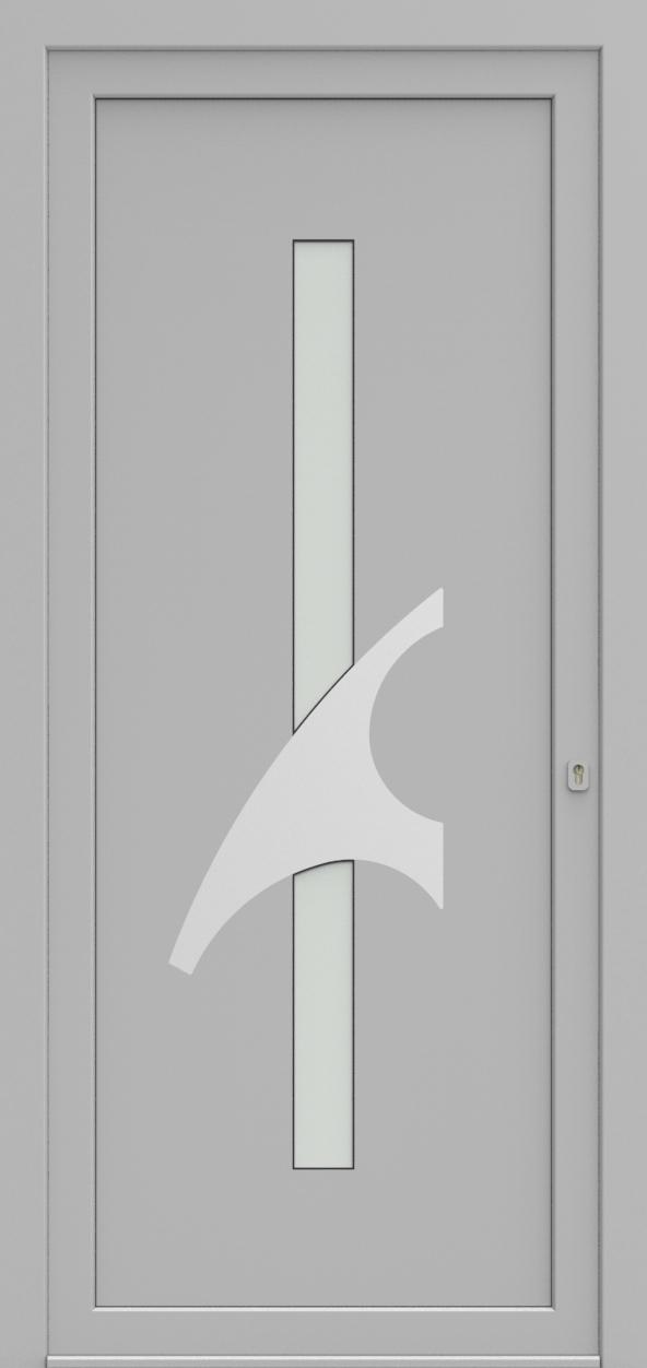 Porte d'entrée EQUINOX 2 de la gamme Solinox posée par les établissements CELEREAU à Roncq