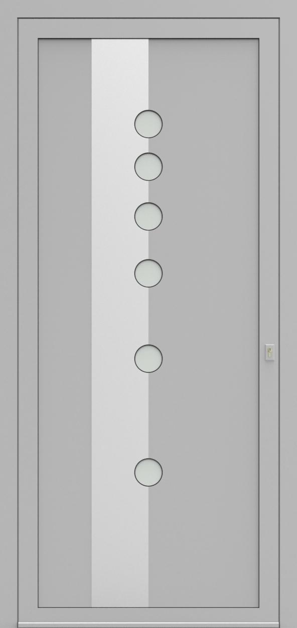 Porte d'entrée EQUINOX 5 de la gamme Solinox posée par les établissements CELEREAU à Roncq