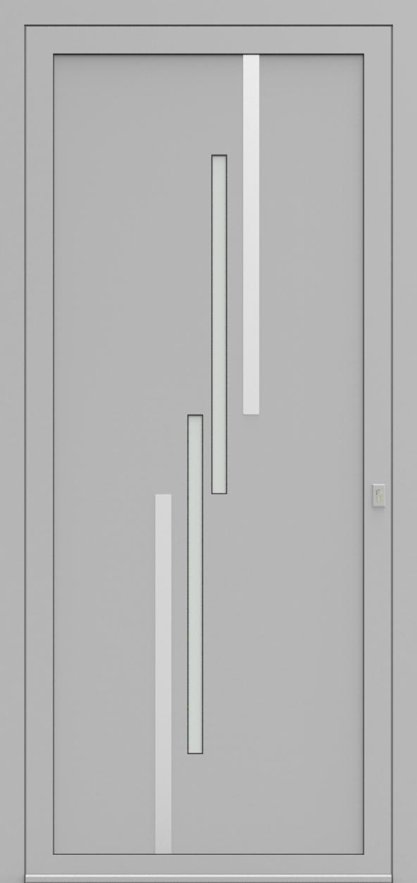 Porte d'entrée EQUINOX 6 de la gamme Solinox posée par les établissements CELEREAU à Roncq