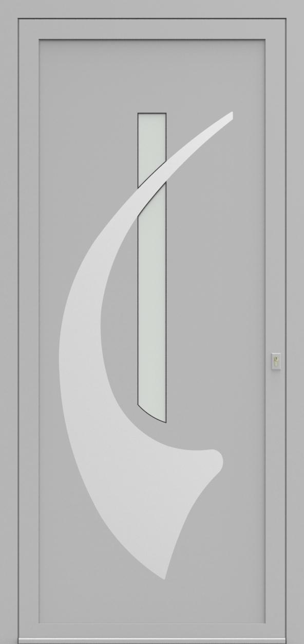 Porte d'entrée EQUINOX 9 de la gamme Solinox posée par les établissements CELEREAU à Roncq