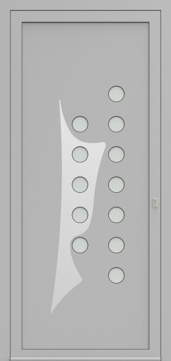 Porte d'entrée 53010S MONOX de la gamme Solinox posée par les établissements CELEREAU à Roncq