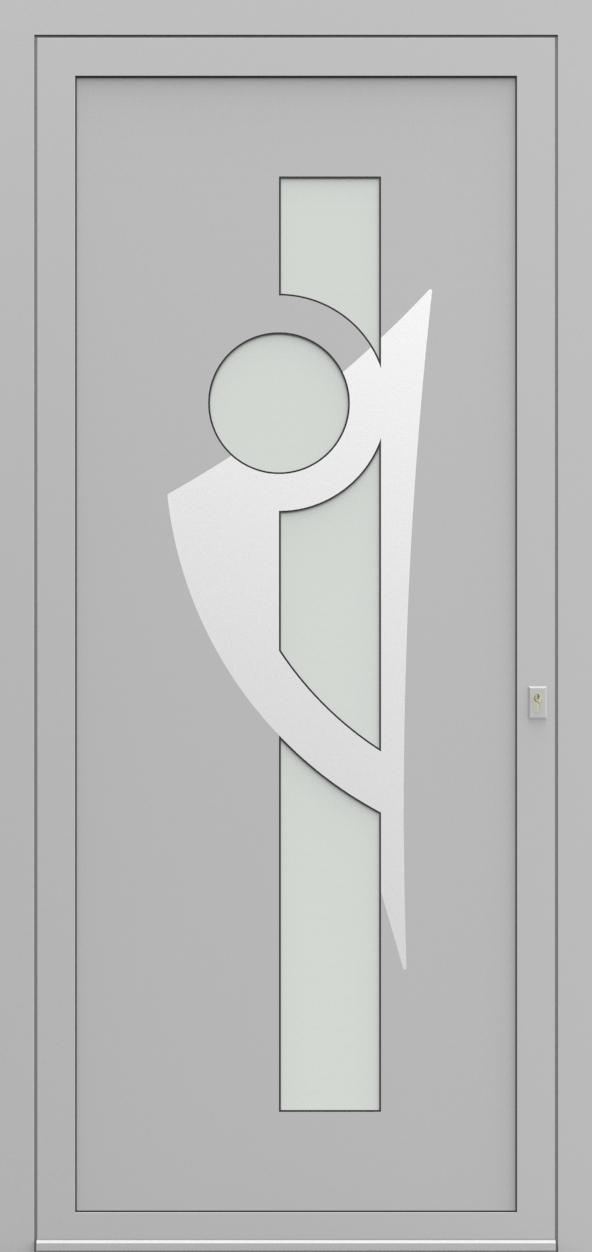 Porte d'entrée 53710 OCTOX de la gamme Solinox posée par les établissements CELEREAU à Roncq