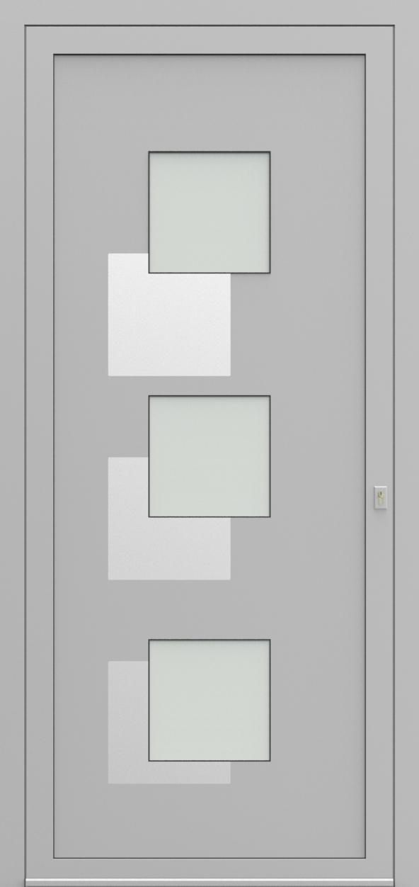 Porte d'entrée 57830S FILOX de la gamme Solinox posée par les établissements CELEREAU à Roncq
