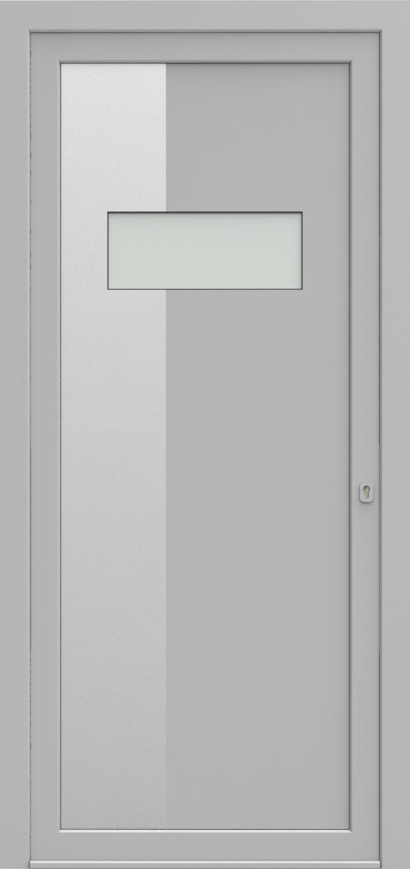 Porte d'entrée 59710 SKYBOX de la gamme Solinox posée par les établissements CELEREAU à Roncq