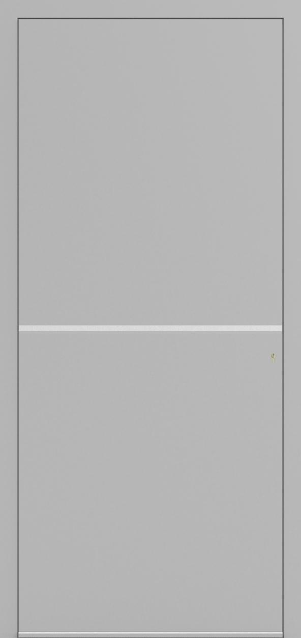 Porte d'entrée SX DESIGN K de la gamme Solinox posée par les établissements CELEREAU à Roncq