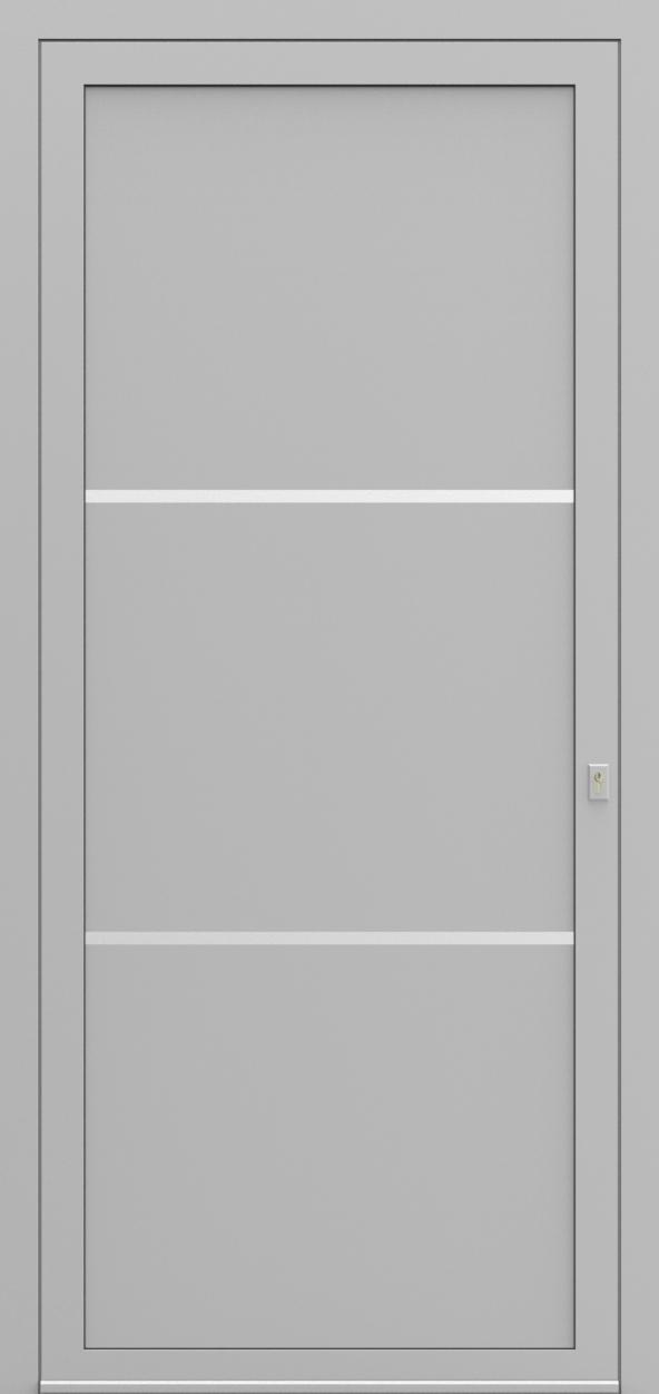 Porte d'entrée SX DESIGN L de la gamme Solinox posée par les établissements CELEREAU à Roncq