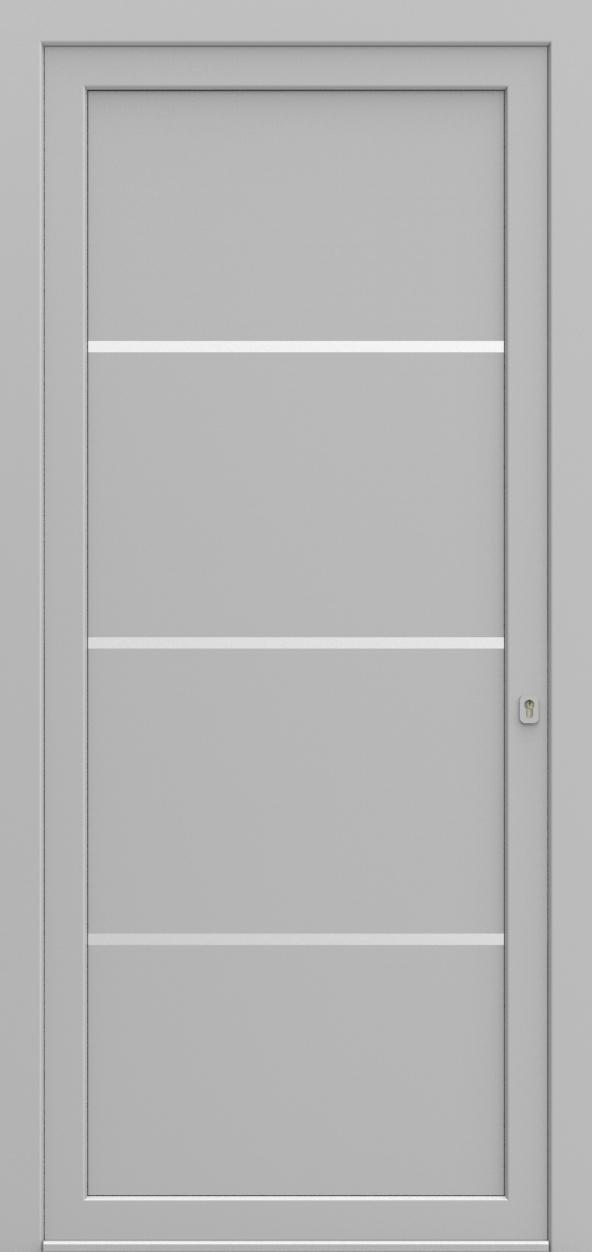 Porte d'entrée SX DESIGN M de la gamme Solinox posée par les établissements CELEREAU à Roncq