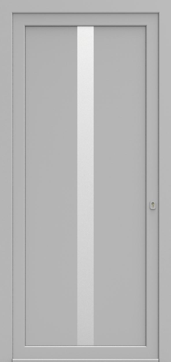 Porte d'entrée SX DESIGN N de la gamme Solinox posée par les établissements CELEREAU à Roncq
