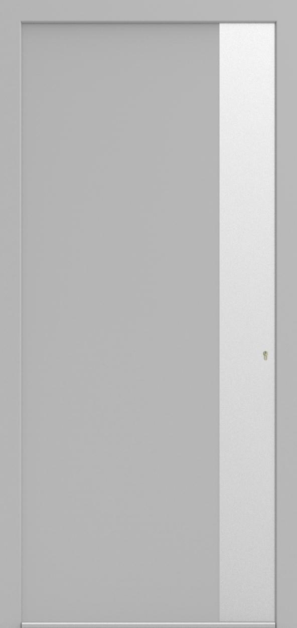 Porte d'entrée SX DESIGN O de la gamme Solinox posée par les établissements CELEREAU à Roncq