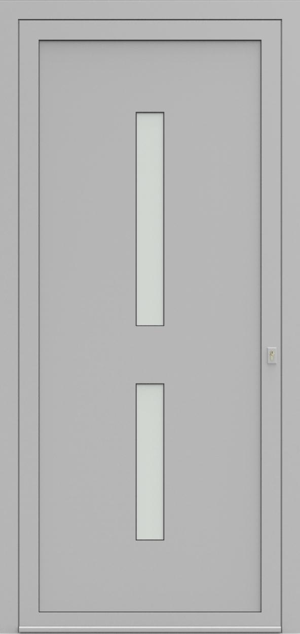 Porte d'entrée EQUISOL 10 de la gamme Solo posée par les établissements CELEREAU à Roncq