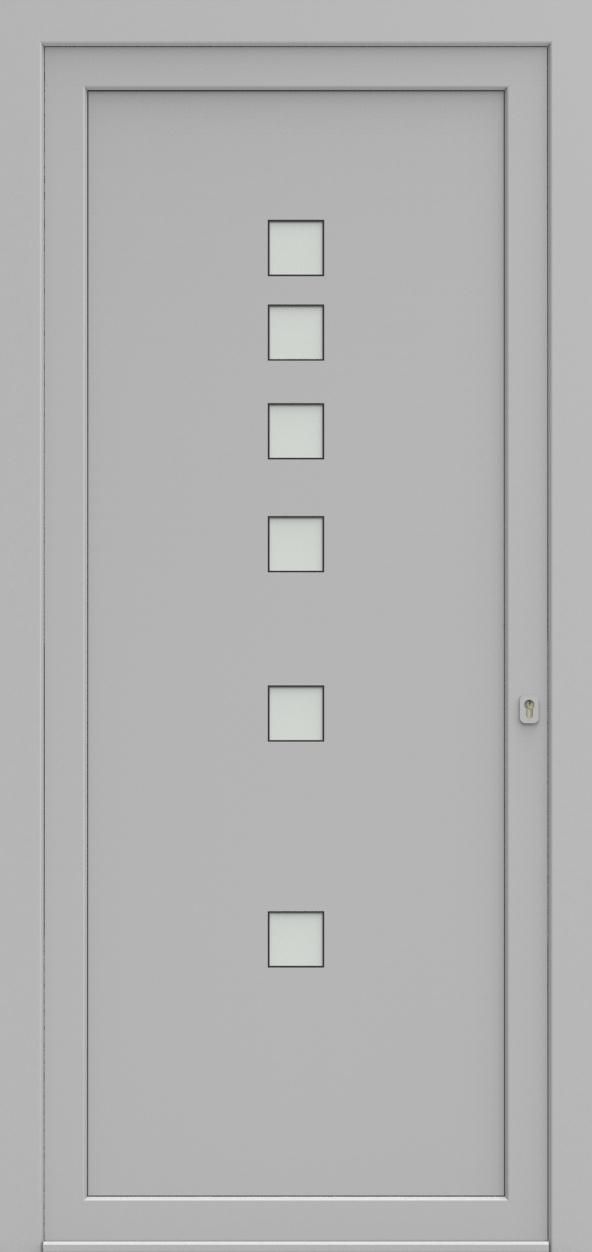 Porte d'entrée EQUISOL 2 de la gamme Solo posée par les établissements CELEREAU à Roncq