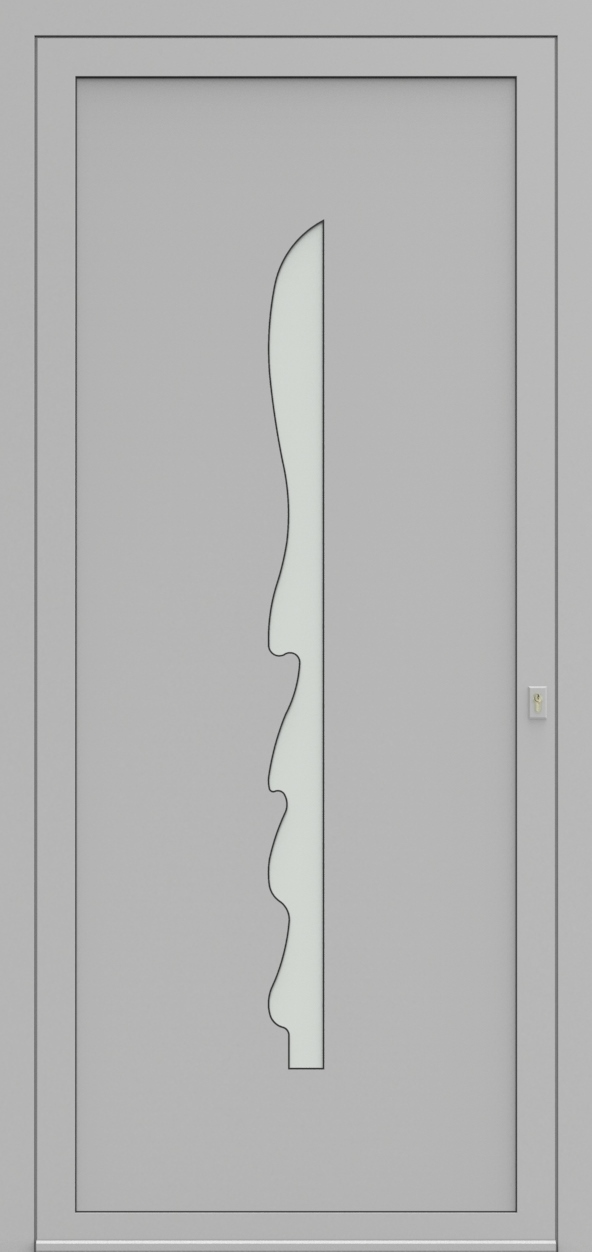 Porte d'entrée EQUISOL 3 de la gamme Solo posée par les établissements CELEREAU à Roncq