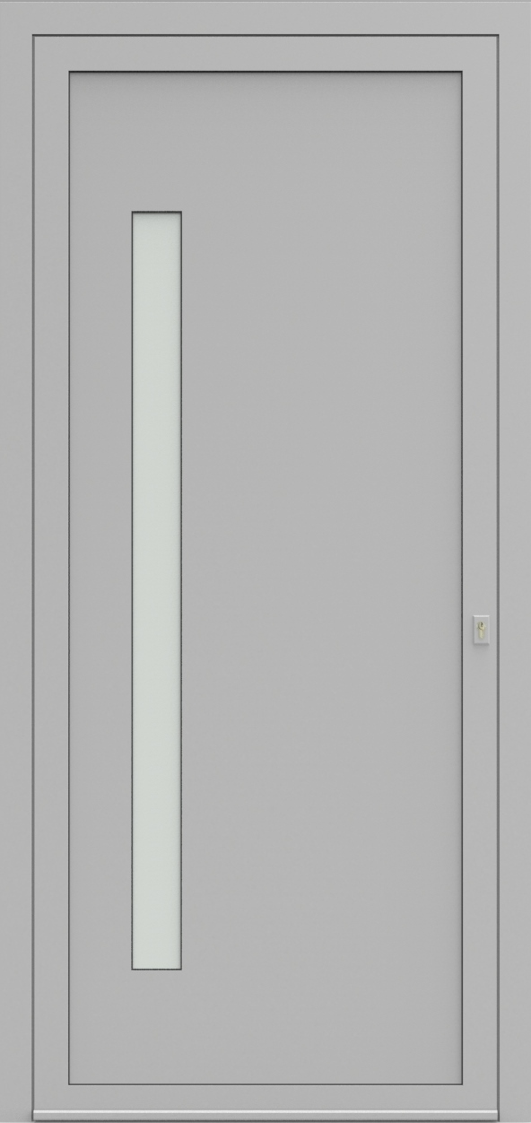 Porte d'entrée EQUISOL 7 de la gamme Solo posée par les établissements CELEREAU à Roncq