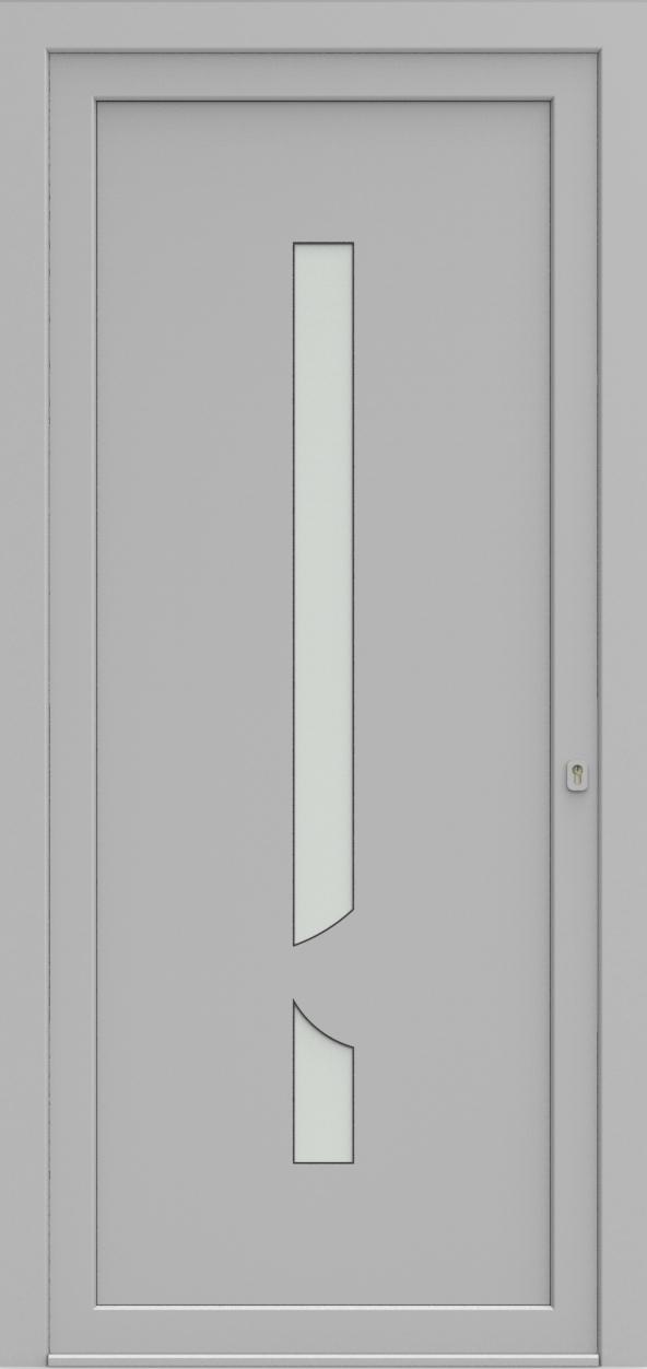 Porte d'entrée EQUISOL 9 de la gamme Solo posée par les établissements CELEREAU à Roncq