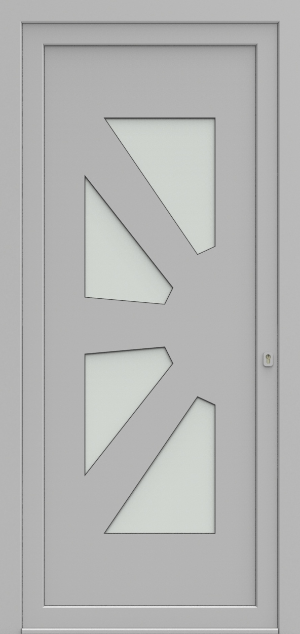 Porte d'entrée 13045 PLAYA de la gamme Solo posée par les établissements CELEREAU à Roncq