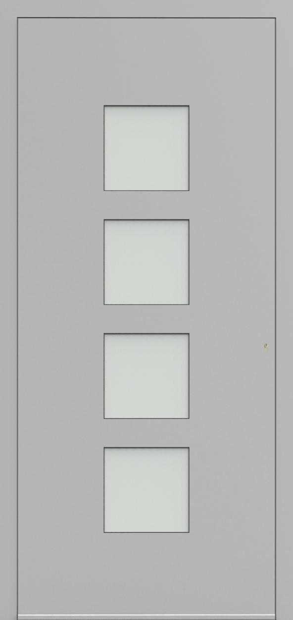 Porte d'entrée 17740 CALLU de la gamme Solo posée par les établissements CELEREAU à Roncq