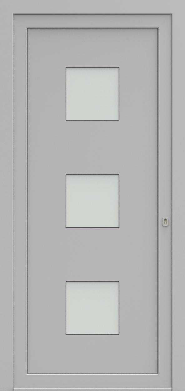 Porte d'entrée 17830 FLANDRIA de la gamme Solo posée par les établissements CELEREAU à Roncq