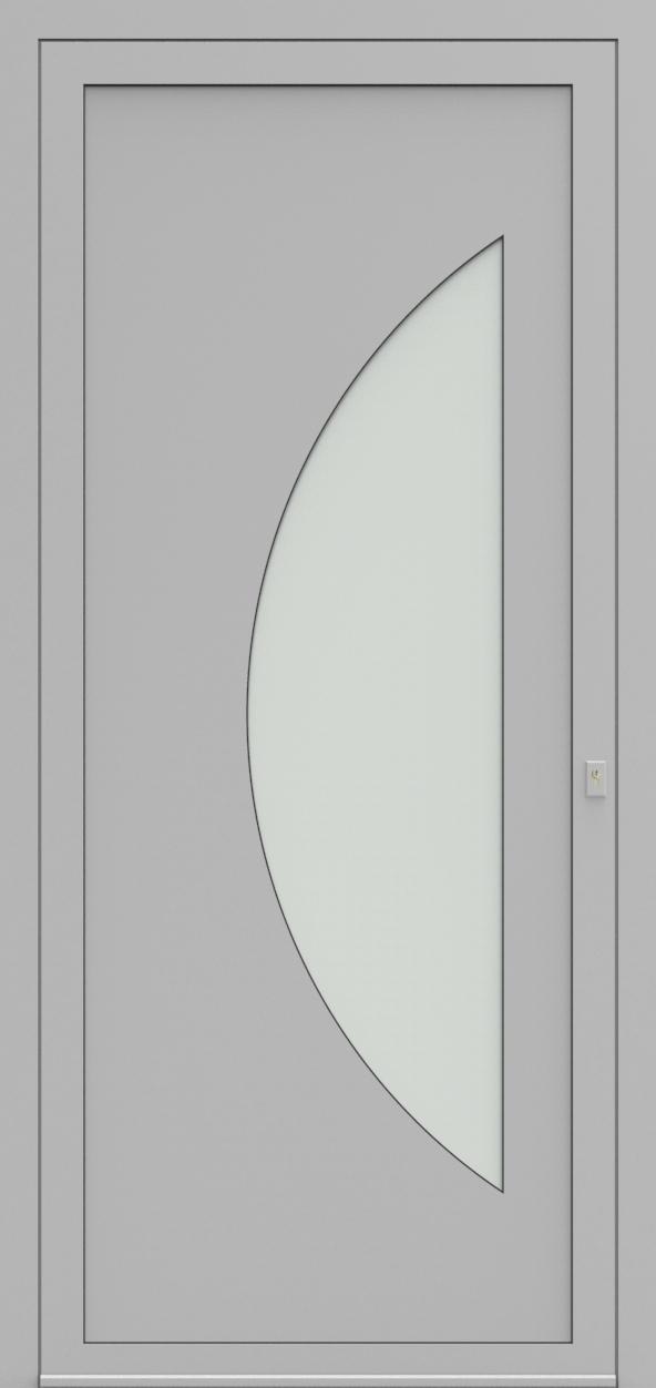 Porte d'entrée 19410S T1 SOPRANO de la gamme Solo posée par les établissements CELEREAU à Roncq