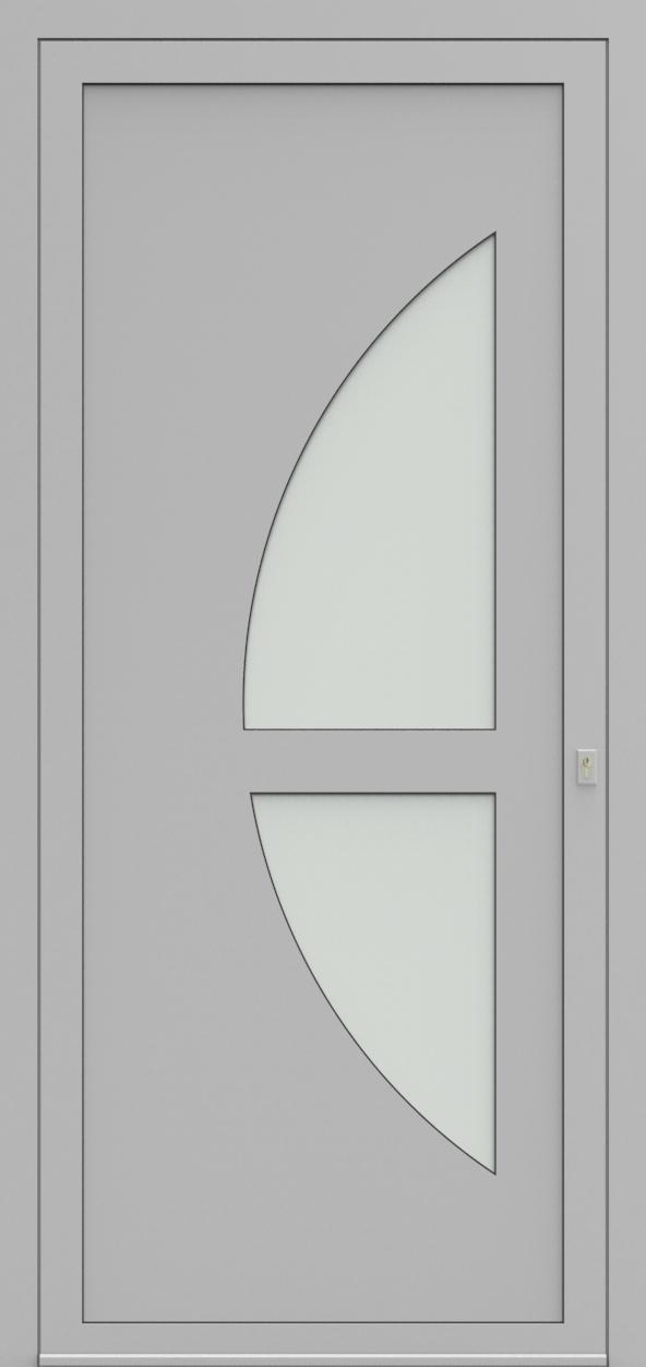 Porte d'entrée 19410S T2 SOPRANO de la gamme Solo posée par les établissements CELEREAU à Roncq