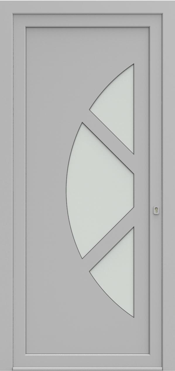 Porte d'entrée 19410S T5 SOPRANO de la gamme Solo posée par les établissements CELEREAU à Roncq