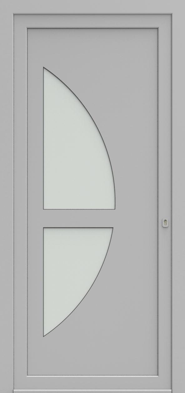 Porte d'entrée 19410 T2 SOPRANO de la gamme Solo posée par les établissements CELEREAU à Roncq