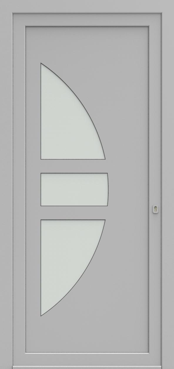 Porte d'entrée 19410 T3 SOPRANO de la gamme Solo posée par les établissements CELEREAU à Roncq