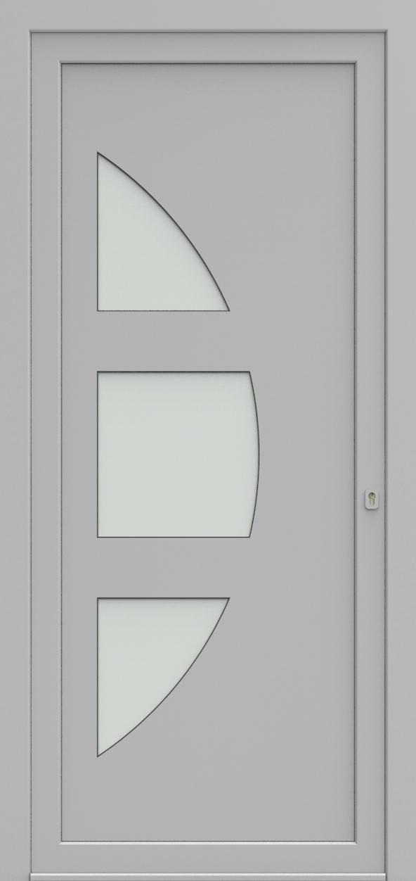 Porte d'entrée 19410 T4 SOPRANO de la gamme Solo posée par les établissements CELEREAU à Roncq