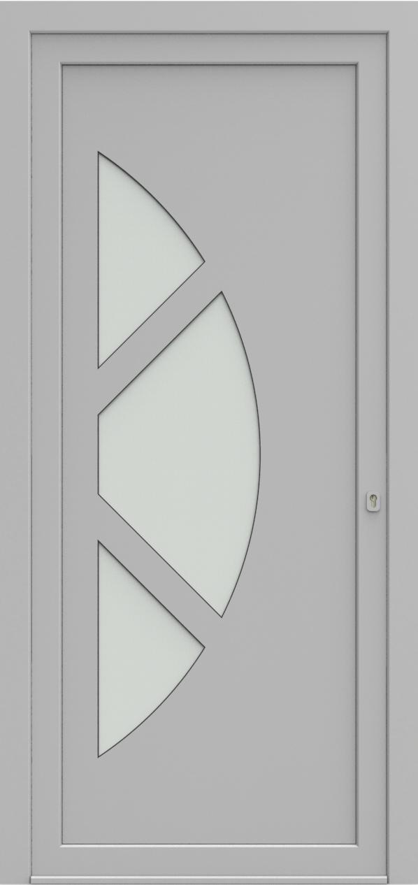 Porte d'entrée 19410 T5 SOPRANO de la gamme Solo posée par les établissements CELEREAU à Roncq