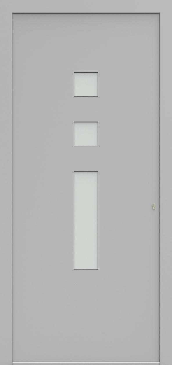 Porte d'entrée 21530 ANGEL de la gamme Solo posée par les établissements CELEREAU à Roncq