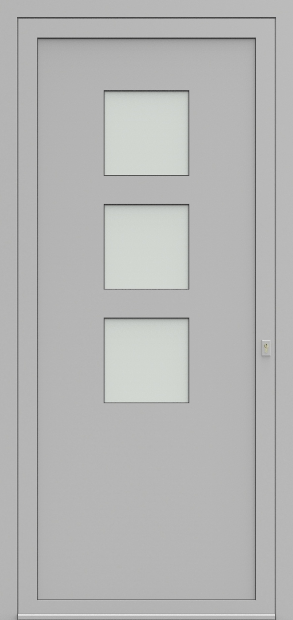 Porte d'entrée 24530 AVERIL de la gamme Solo posée par les établissements CELEREAU à Roncq