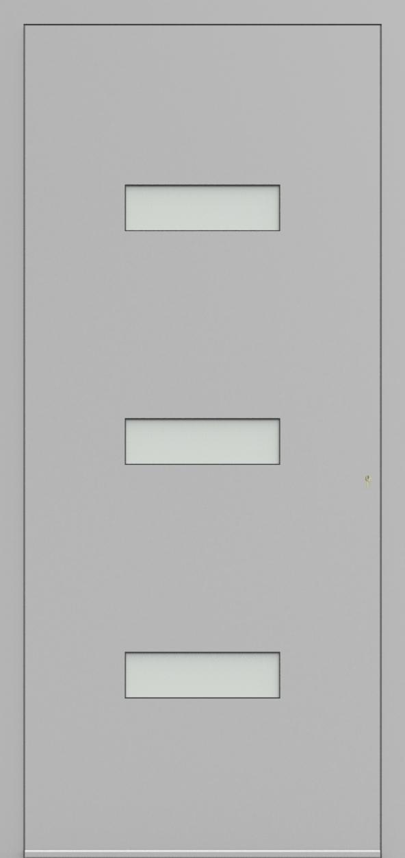 Porte d'entrée 24830 ARNE de la gamme Solo posée par les établissements CELEREAU à Roncq