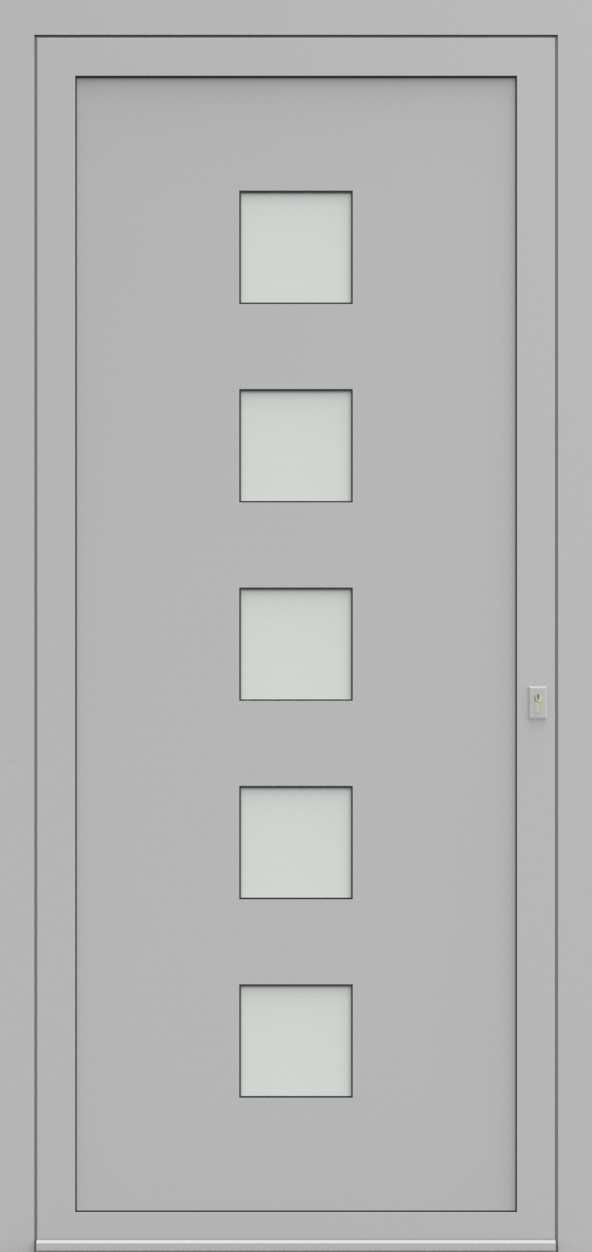 Porte d'entrée 72250 COMPTA de la gamme Solo posée par les établissements CELEREAU à Roncq