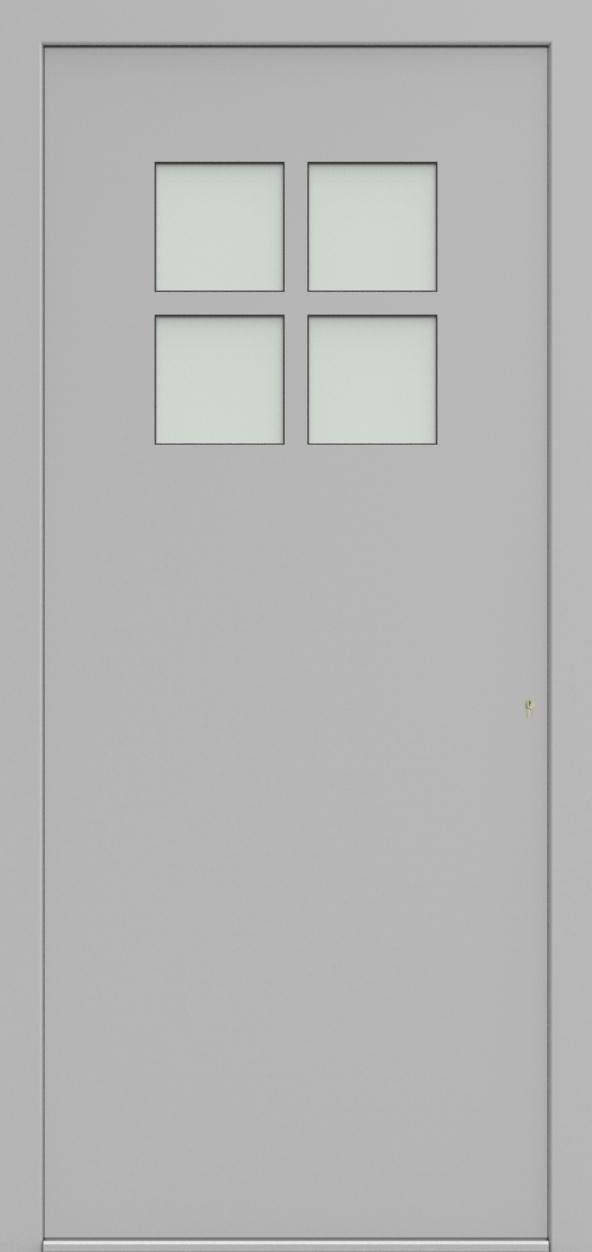 Porte d'entrée 74410B VERNISSAGE de la gamme Solo posée par les établissements CELEREAU à Roncq