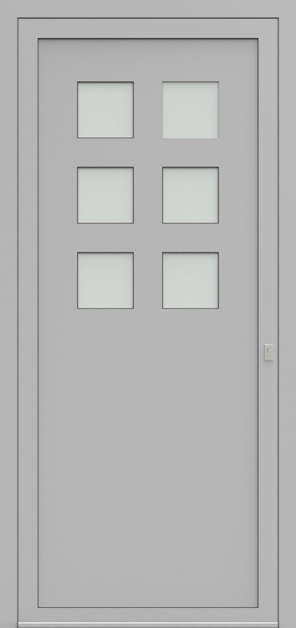 Porte d'entrée SO 76410B FINISSAGE de la gamme Solo posée par les établissements CELEREAU à Roncq