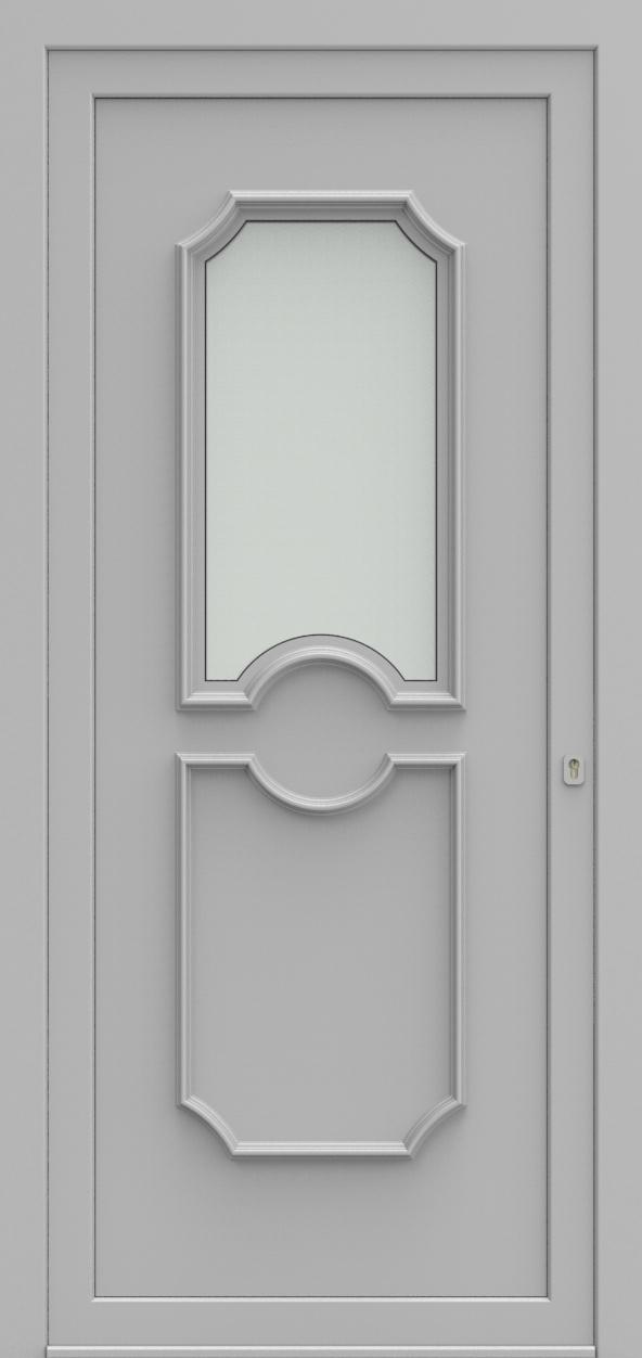 Porte d'entrée 1115 ELEGANCE de la gamme Topline posée par les établissements CELEREAU à Roncq
