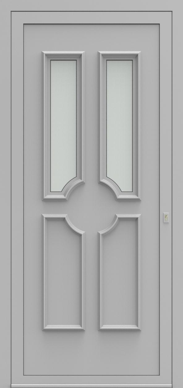 Porte d'entrée 1320 MONZA de la gamme Topline posée par les établissements CELEREAU à Roncq
