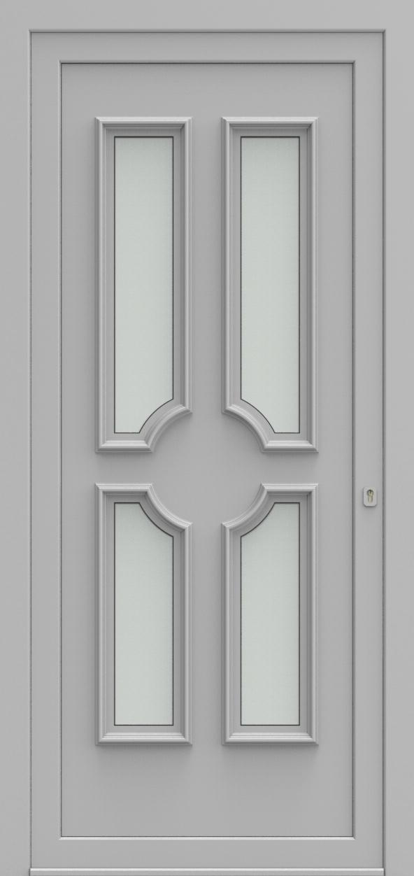 Porte d'entrée 1340 MONZA de la gamme Topline posée par les établissements CELEREAU à Roncq