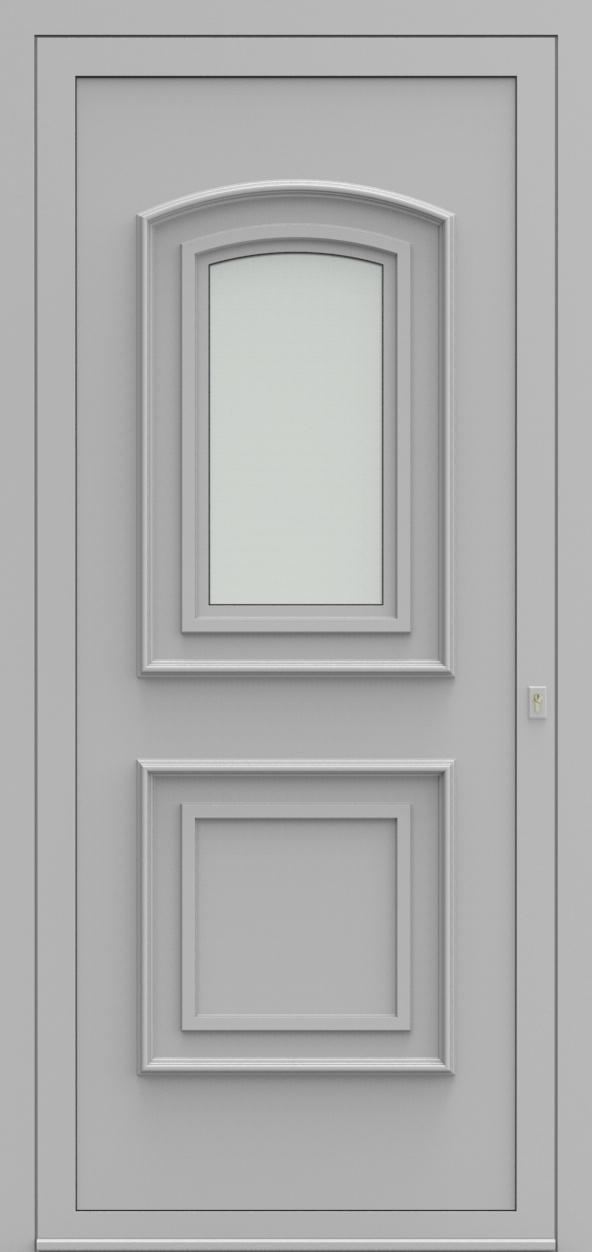 Porte d'entrée 1410 ROYAL de la gamme Topline posée par les établissements CELEREAU à Roncq