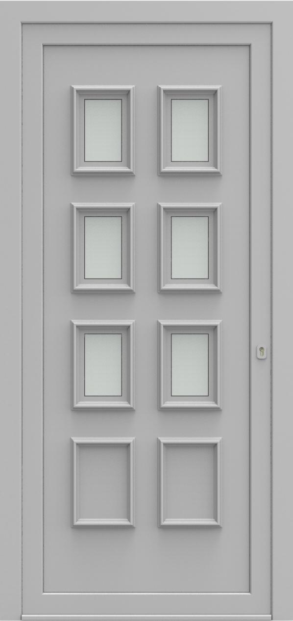Porte d'entrée 1860 VIKTORIA de la gamme Topline posée par les établissements CELEREAU à Roncq