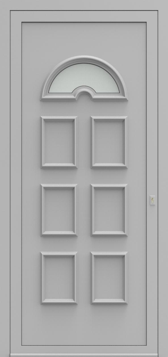 Porte d'entrée 2310 NIKITA de la gamme Topline posée par les établissements CELEREAU à Roncq