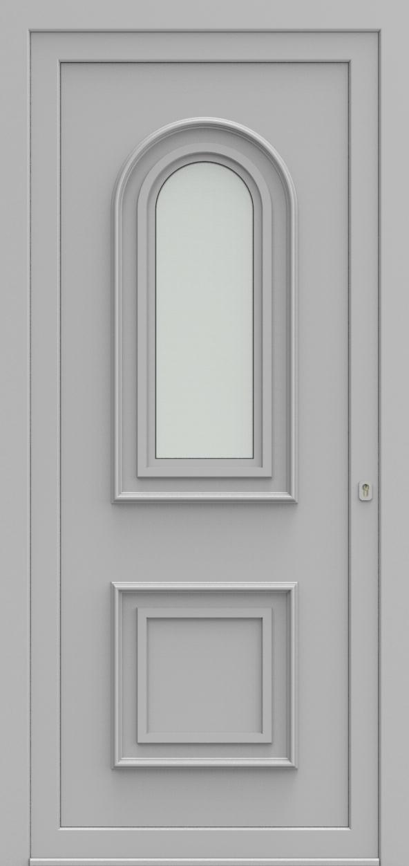 Porte d'entrée 2710 PAVERA de la gamme Topline posée par les établissements CELEREAU à Roncq