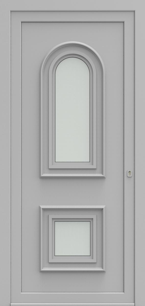 Porte d'entrée 2720 PAVERA de la gamme Topline posée par les établissements CELEREAU à Roncq