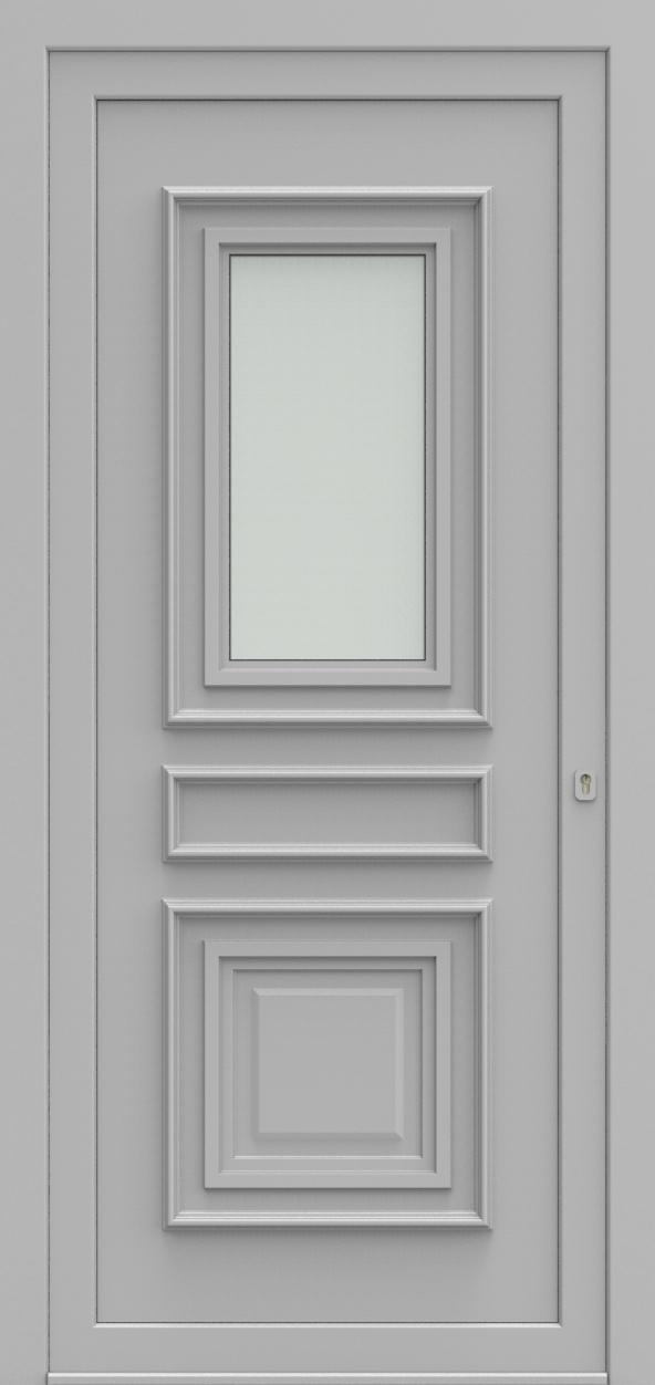 Porte d'entrée 3510 MATTEO de la gamme Topline posée par les établissements CELEREAU à Roncq
