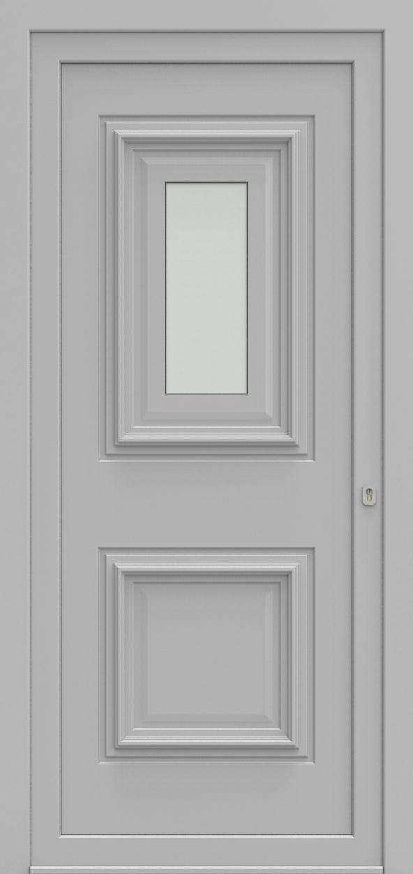 Porte d'entrée 4410 TEMPO de la gamme Topline posée par les établissements CELEREAU à Roncq