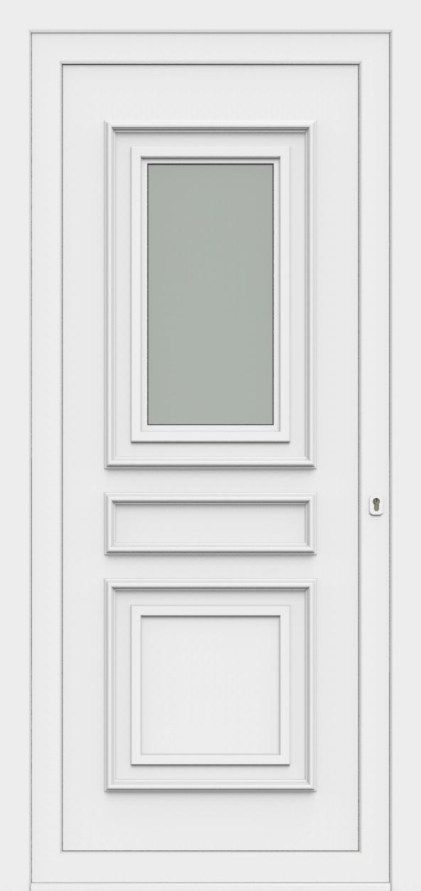Porte d'entrée 4710 AMBASSADE de la gamme Topline posée par les établissements CELEREAU à Roncq