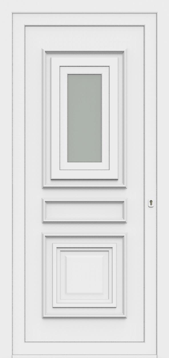Porte d'entrée 4712/O AMBASSADE de la gamme Topline posée par les établissements CELEREAU à Roncq
