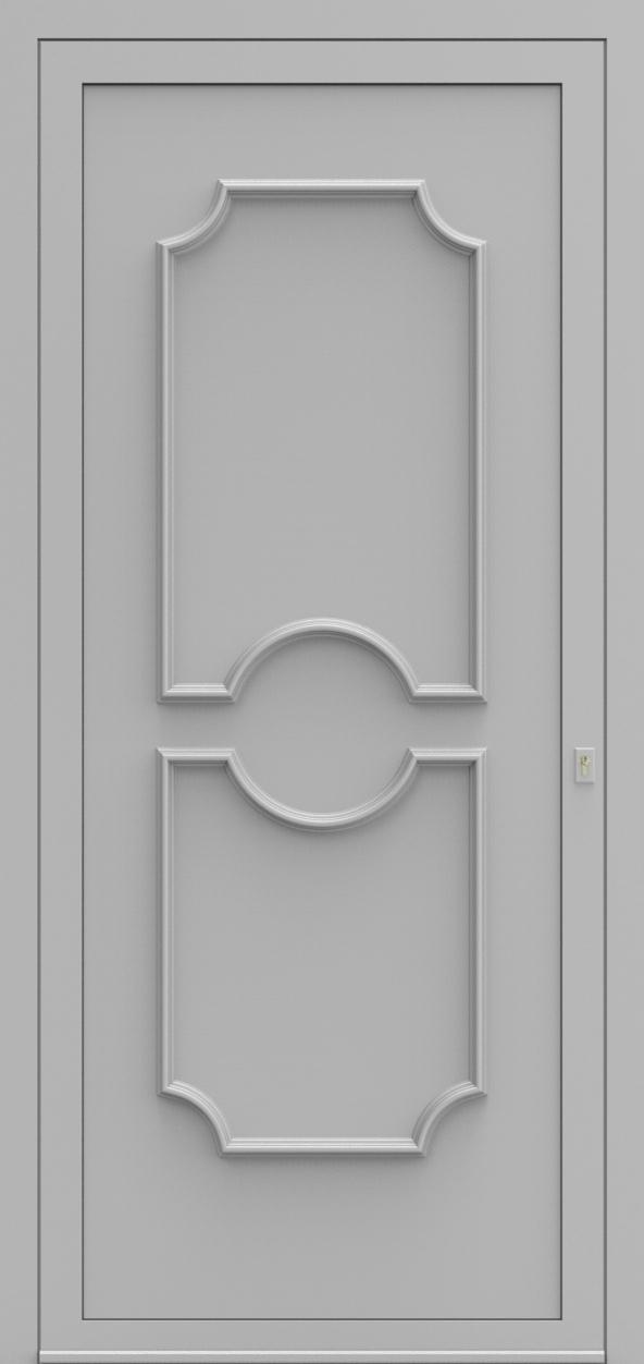 Porte d'entrée 510 ELEGANCE de la gamme Topline posée par les établissements CELEREAU à Roncq