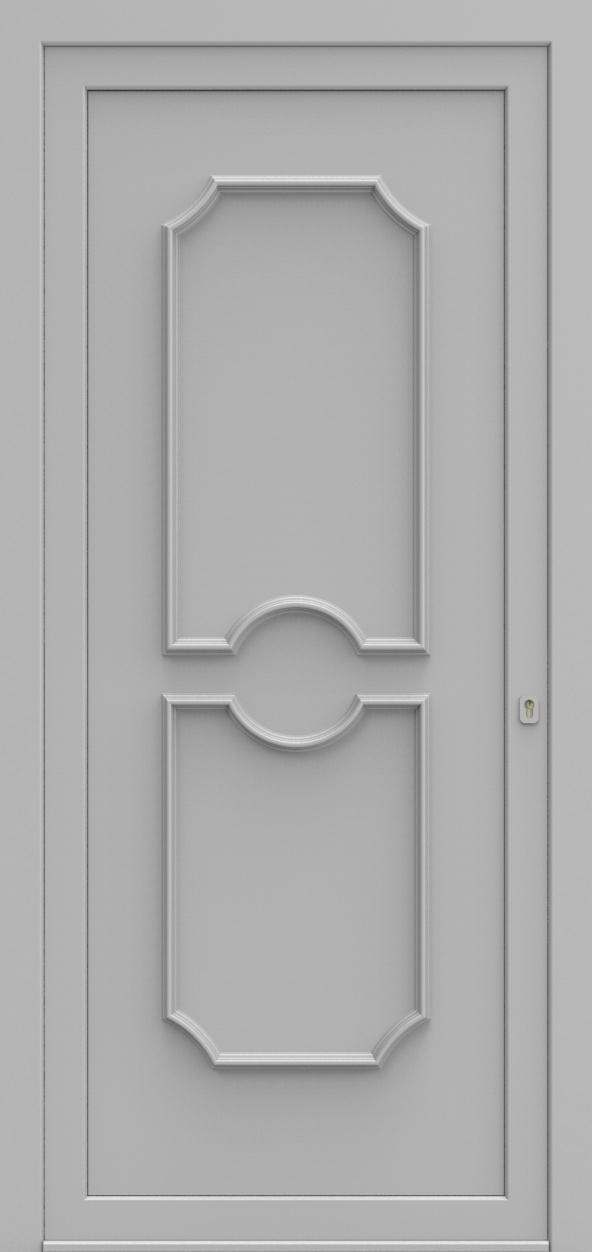 Porte d'entrée 515 ELEGANCE de la gamme Topline posée par les établissements CELEREAU à Roncq