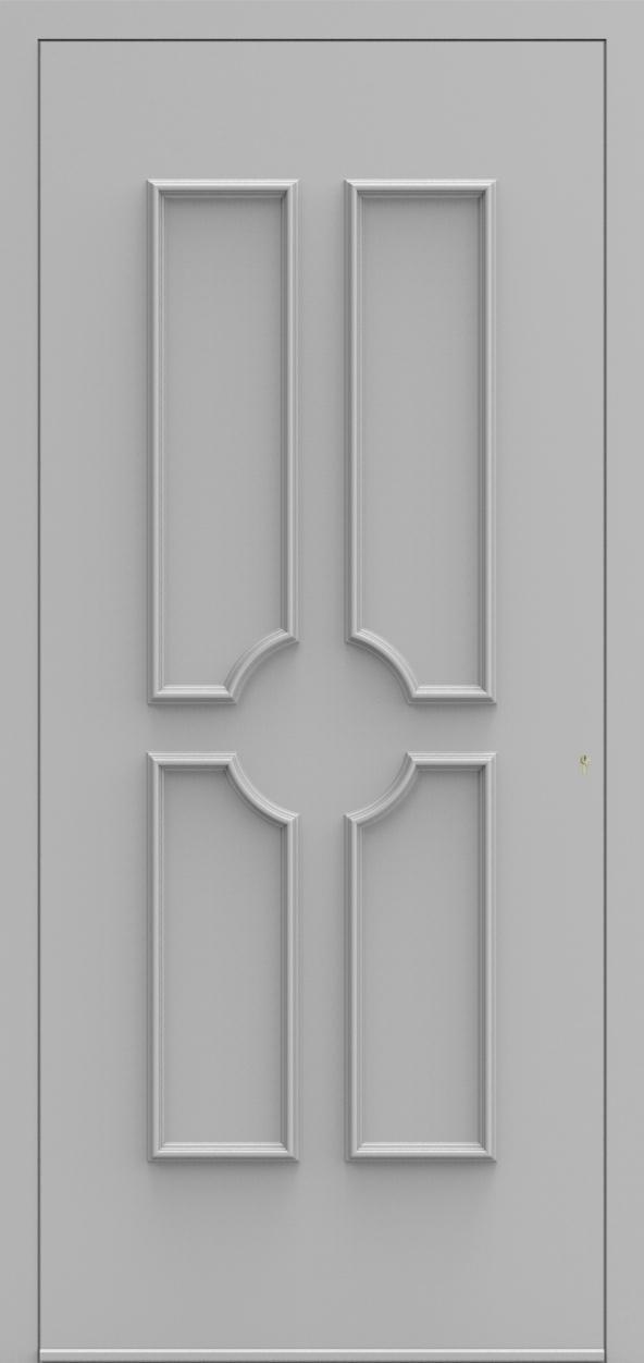 Porte d'entrée 530 MONZA de la gamme Topline posée par les établissements CELEREAU à Roncq